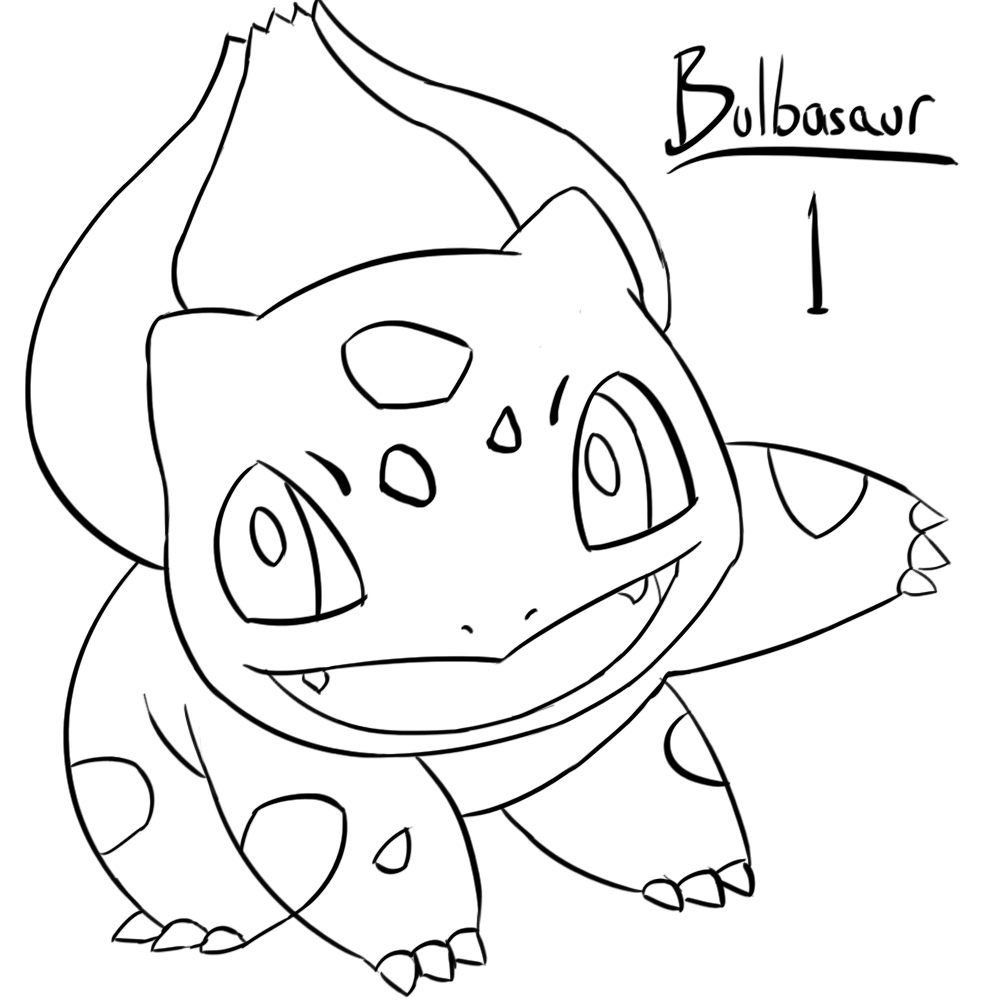 pokemon bulbasaur coloring pages images pokemon images Pokemon Squirtle Coloring Pages  Bulbasaur Pokemon Coloring Pages