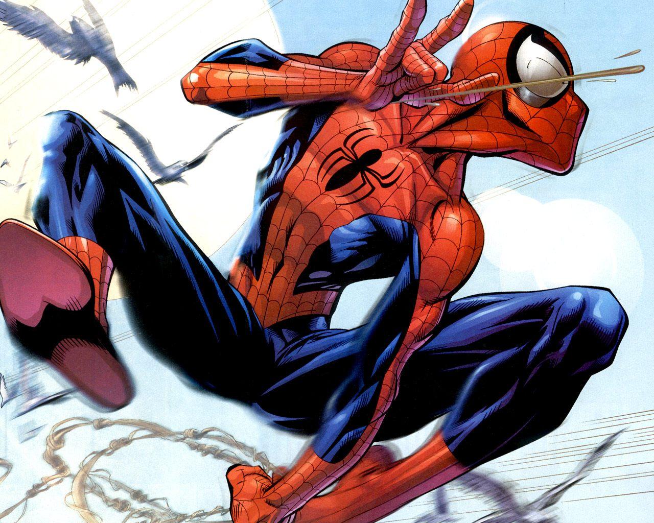 Desenho Hd Do Homem Aranha Fotos E Imagens