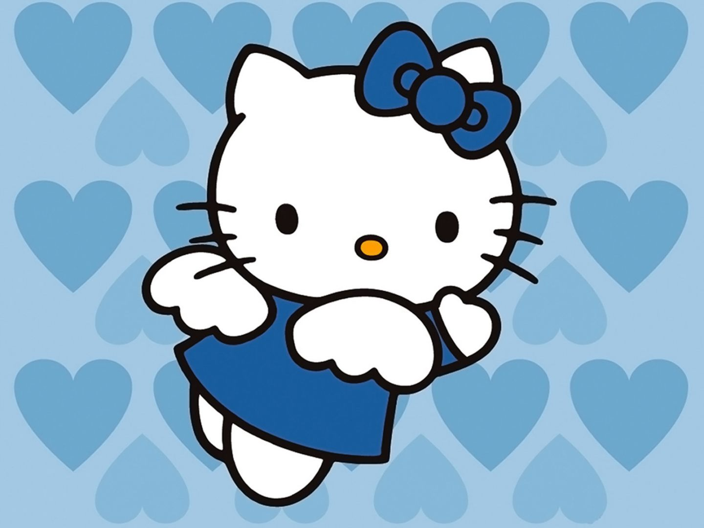 Hello Kitty azul