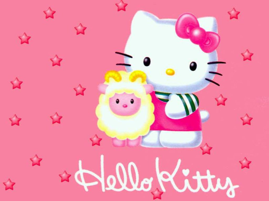 Hello Kitty cor-de-rosa