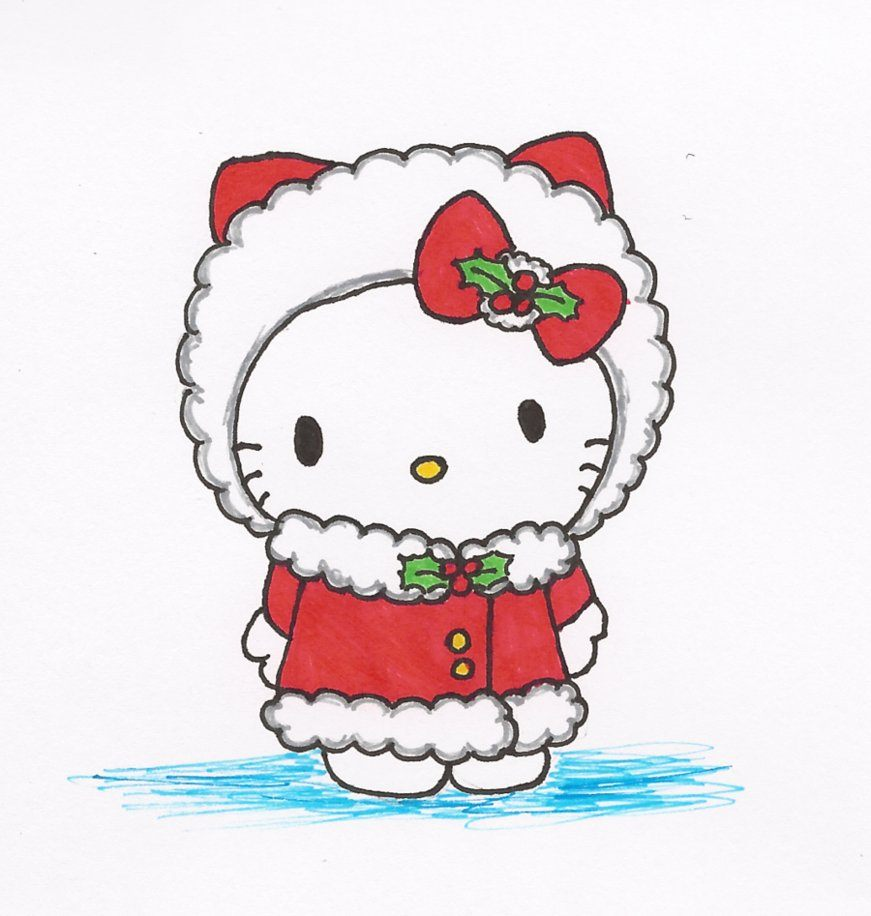 Hello Kitty no Natal