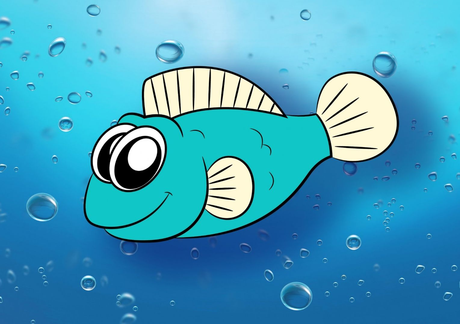 fish swimming in clip art animations n - HD 1520×1074