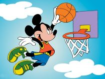 Mickey basquetebol